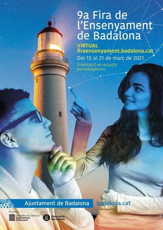 Cartell oficial de la 9ªFira de l'Ensenyament de Badalona