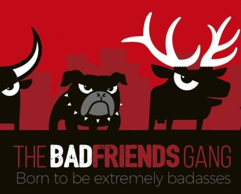 Tienda Prestashop con blog Wordpress de Badfriends | Badfriends gang
