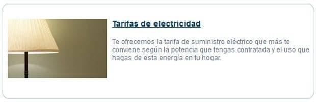 Tarifas de electricidad - Consultoría SEO Fatwire