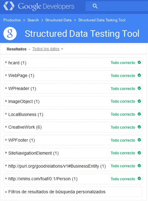 Implementaciones de datos estructurados