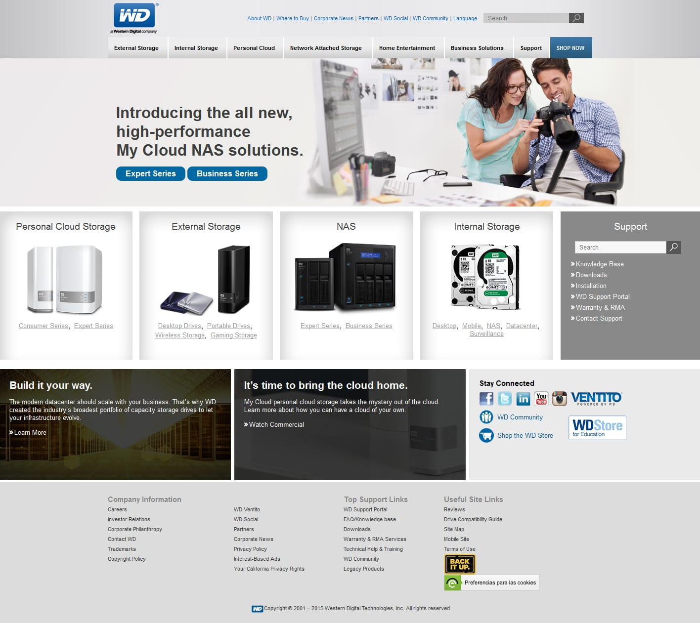 Project SEO for WD Corporate