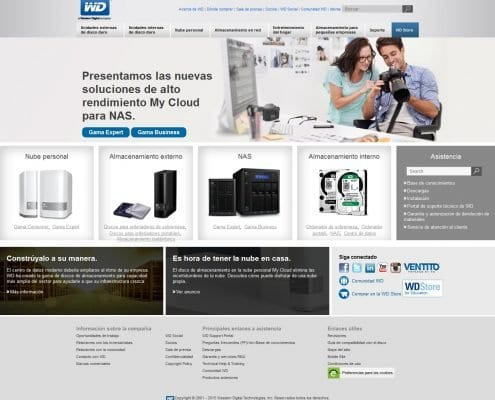 Proyecto Western Digital SEO - Corporativo