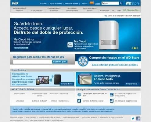 Proyecto Western Digital SEO - Tienda