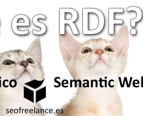 ¿Que es RDF?