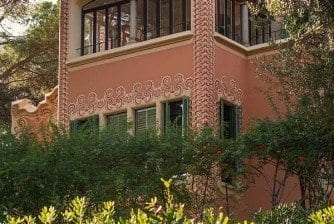 Casa Museo Gaudí - Fachada